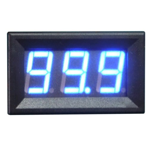 New Digital DC Ammeter 10A Blue LED Panel Amp Meter Digital Electricity Meter спот светодиодный paulmann zyled 66561