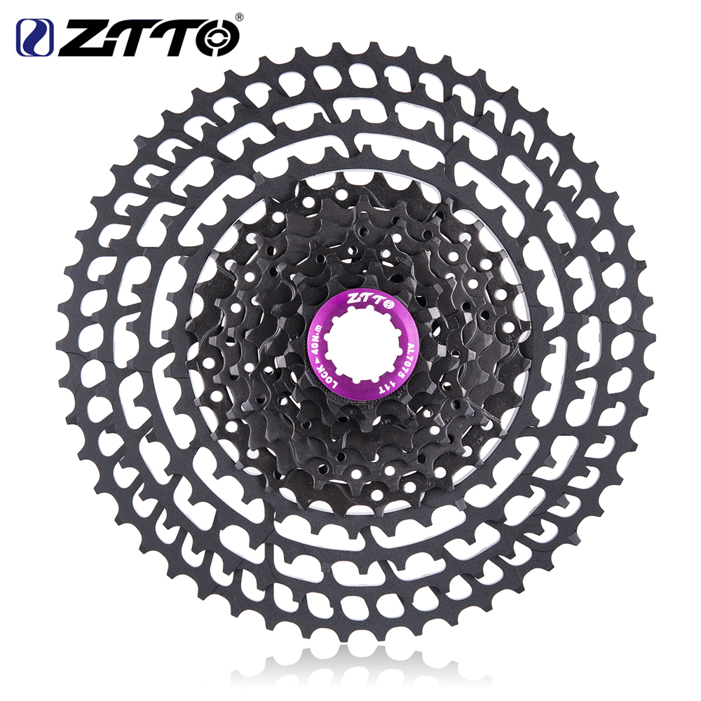 Image 4 - ZTTO MTB 11 Speed SLR 11 50T Bicycle Cassette 11s Ultralight CNC Colorful Freewheel Mountain Bike Sprocket HG Hub XX1 gx m9000-in Bicycle Freewheel from Sports & Entertainment