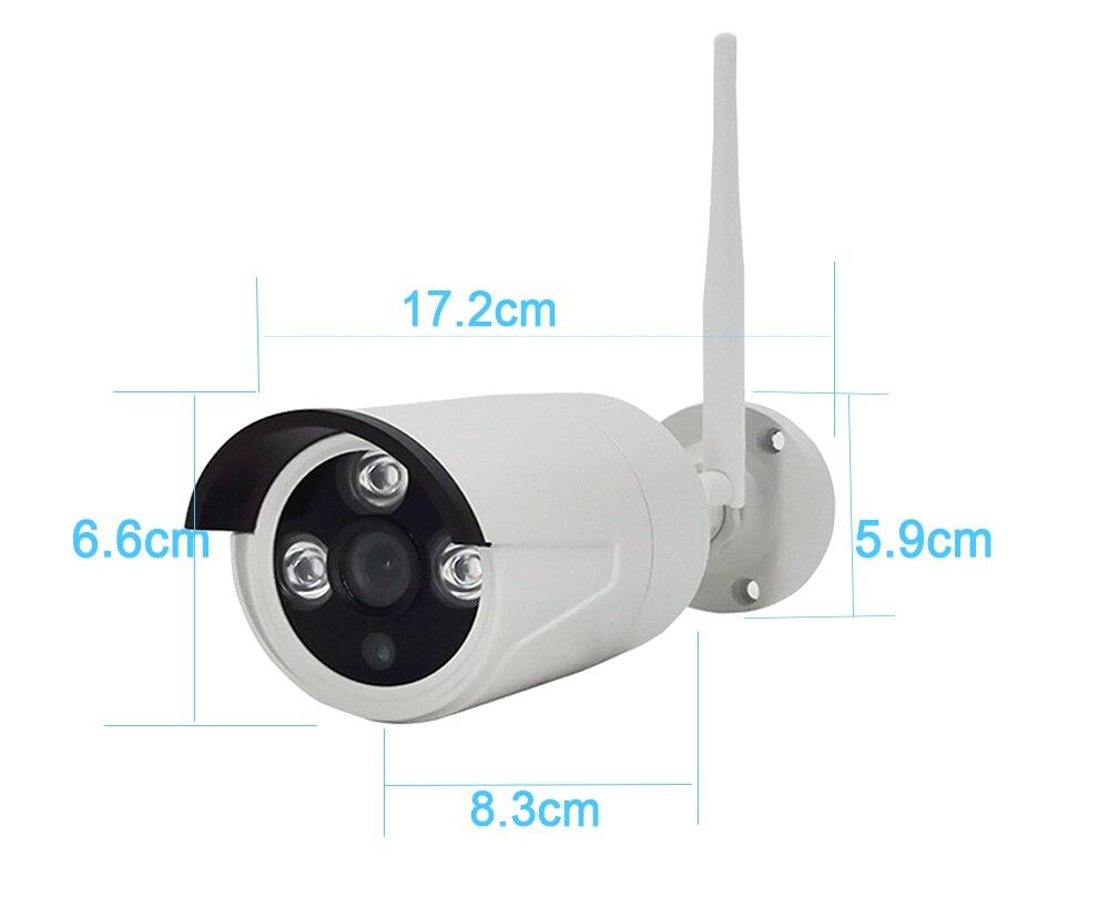 4CH WIFI system CCTV bezprzewodowy zestaw monitoringu NVR 4 sztuk 960 P kamera IP 2MP na zewnątrz wodoodporny bezpieczeństwa w domu P2P system monitoringu wizyjnego