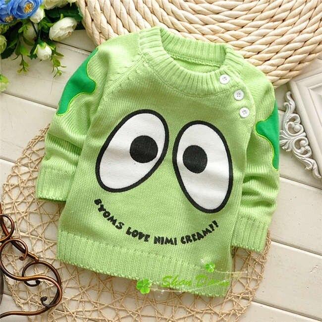 Spring-Autumn-Korean-baby-boys-and-girls-cartoon-Cute-eye-shoulder-buckle-pullover-sweatersV215B-1