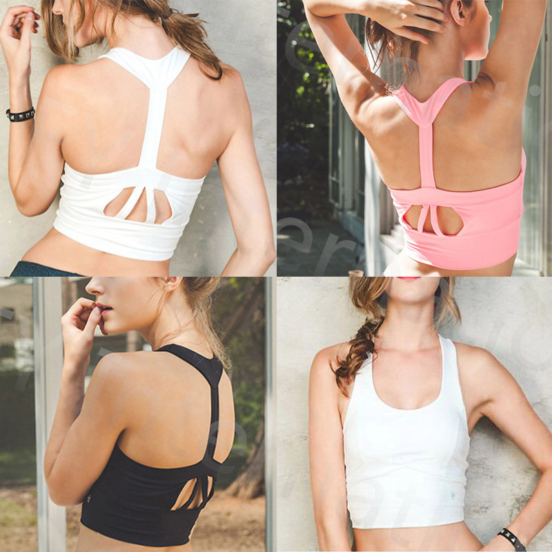 <font><b>New</b></font> Women Yoga <font><b>Sport</b></font> <font><b>Bras</b></font> <font><b>Stretch</b></font> <font><b>Padded</b></font> <font><b>Push</b></font> <font><b>Up</b></font> <font><b>Sport</b></font> <font><b>Bra</b></font> Shakeproof Crop Top Gym Running Women <font><b>Fitness</b></font> <font><b>Bra</b></font> D018Z20