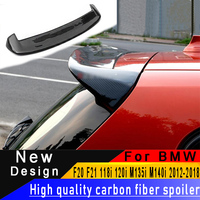 For BMW F20 F21 118i 120i M135i M140i 2012 2018 Carbon Fiber spoiler High Quality Carbon Fiber Material Rear wing roof spoiler