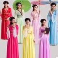 Tradicional chinesa Mulheres Vestido Hanfu Chinês Fada Vestido Branco Vermelho Hanfu Dinastia Tang Roupas Traje Chinês Antigo