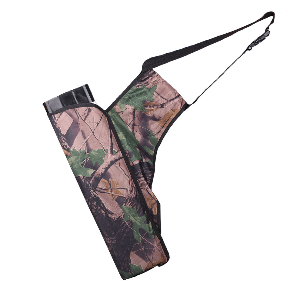 camouflage new four tube oxford quiver holder bow arrow bags waist