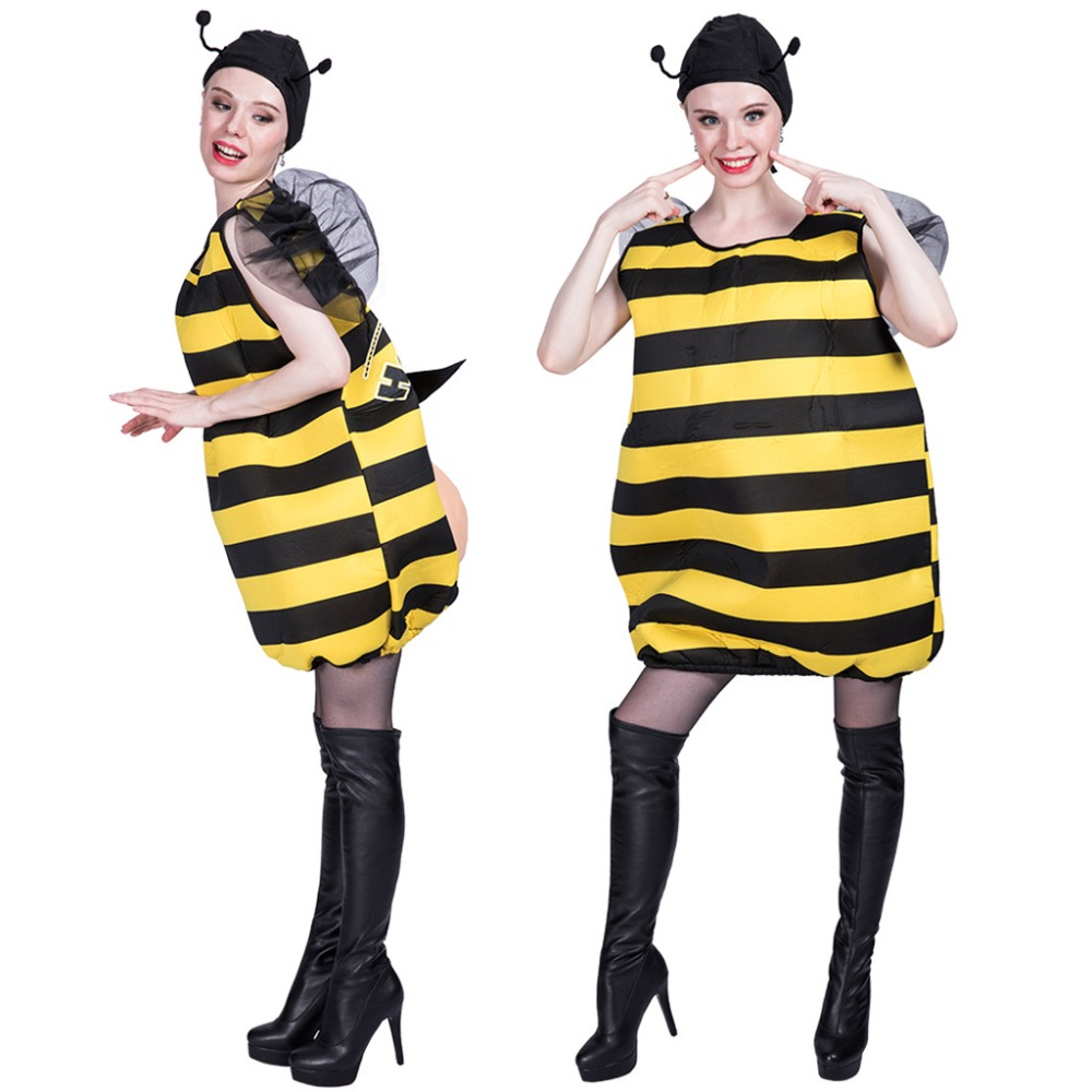 6 Pack Bumble Bee Wings And Deeley Bopper Hairband Fancy Dress Hen Night Party