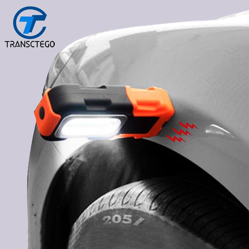 Светодиодная лампа аварийной ситуации ремонт автомобилей, работающих Лампы для мотоциклов работы свет с магнитом Портативный фонари удара...