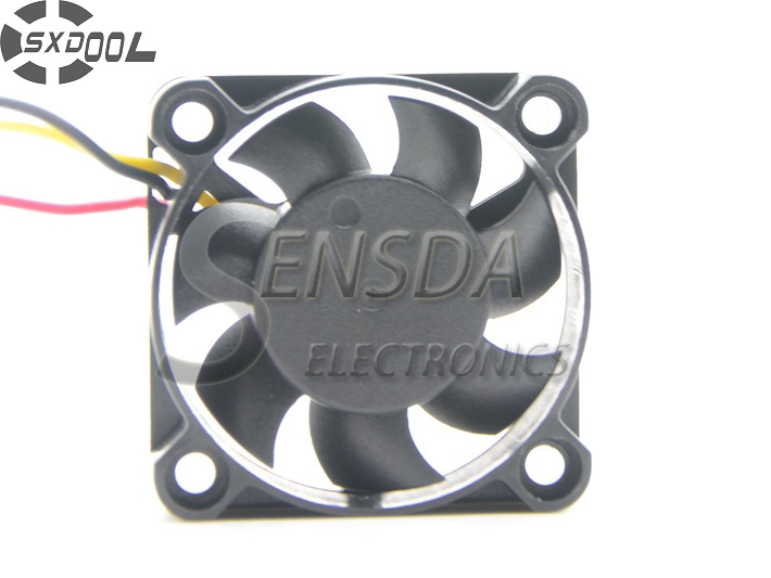 SXDOOL 40mm fan 5v 4010 40X40X10MM Dual Ball Bearing axial cooling chassis fan delta 4010 asb0412ha fk2 7372 hydraulic bearing cooling fan with 40 40 10mm 12v 0 1a 3 wires for bridge chip