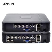 AHD 1080N 4CH 8CH CCTV DVR Mini DVR 5IN1 For CCTV Kit VGA HDMI Security System Mini NVR For 1080P IP Camera Onvif DVR PTZ H.264