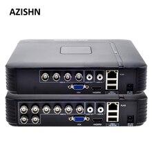 Ahd 1080N 4CH 8CH Cctv Dvr Mini Dvr 5IN1 Voor Cctv Kit Vga Hdmi Beveiligingssysteem Mini Nvr Voor 1080P Ip Camera Onvif Dvr Ptz H.264dvr minidvr ptzdvr cctv dvr
