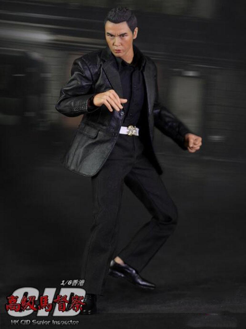 Oyuncaklar ve Hobi Ürünleri'ten Aksiyon ve Oyuncak Figürleri'de 1/6 Ölçekli Hongkong Donnie Yen HK CID Kıdemli Müfettiş Action Figure Seti W/2 Heykel Modeli 12 Tam Set aksiyon Figürü Bebekler Oyuncaklar'da  Grup 2