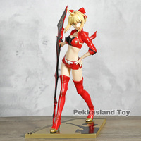 Fate/Extra Stronger Red Saber Nero Claudius Caesar Augustus Germanicus Figure PVC Sexy Toys For Man Gift For Birthday Model XP