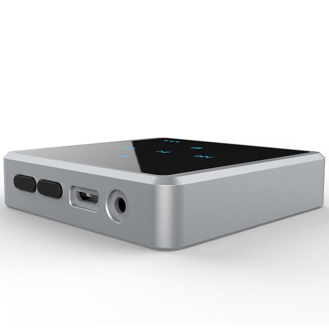 2en1 táctil Bluetooth A2DP Receptor Transmisor Receptor Sin Hilos de ALTA FIDELIDAD Reproductor de Audio Portátil Para Móvil MP3 PC TV