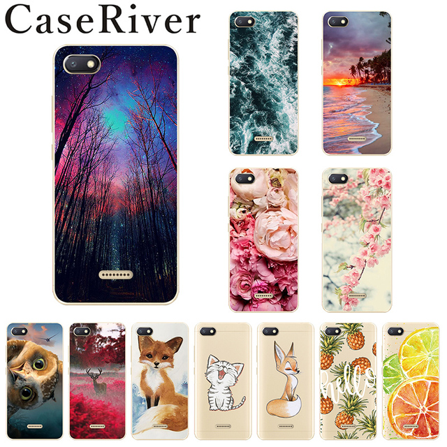 Caseriver Xiaomi Redmi 6A Case Cover Redmi6A Painting Soft Silicone Phone Back Cover Case For Xiaomi Redmi 6A Bag Case