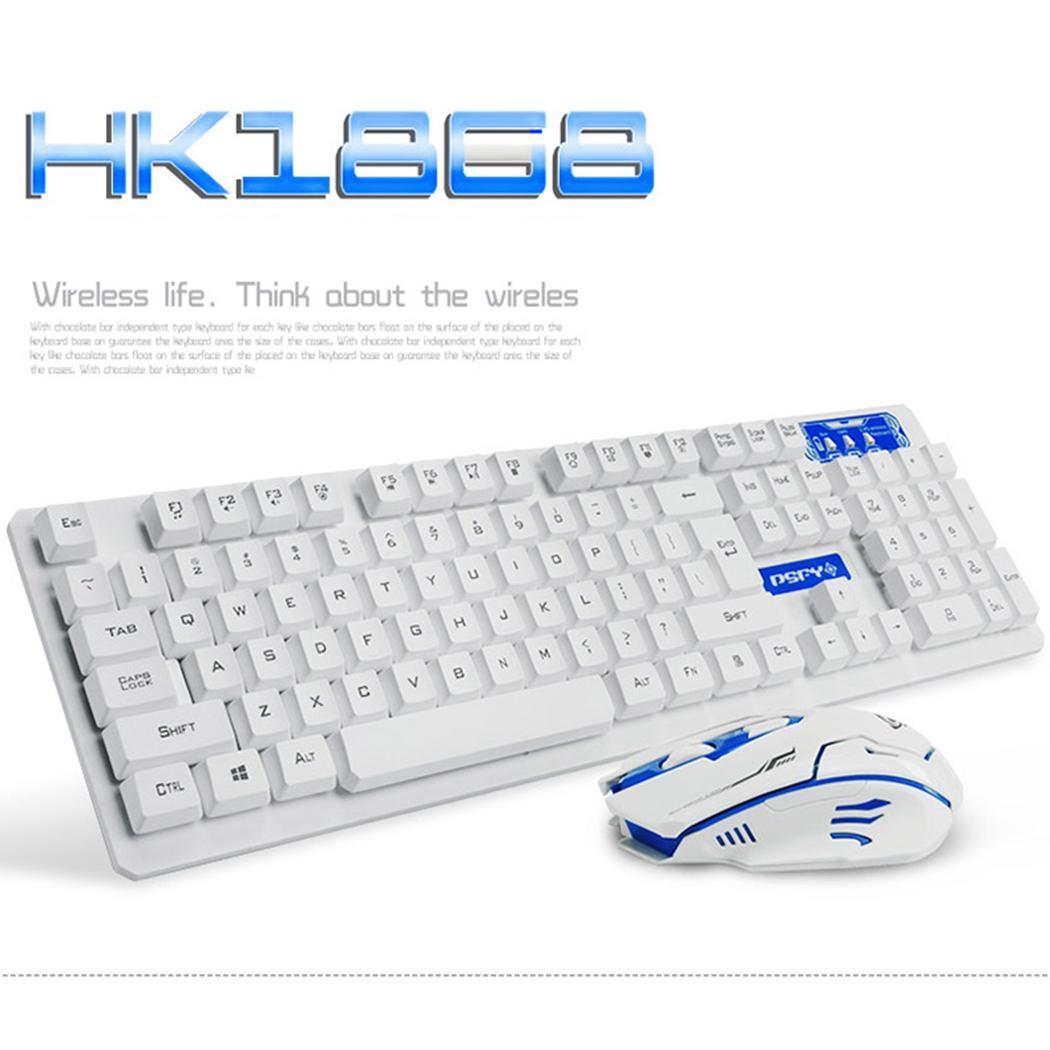 Ensemble de souris clavier sans fil à Induction sensible Durable souris clavier de jeu 10 m Windows XP/7/10 USB