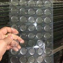 100 шт круглые прозрачные/мигающие прозрачные эпоксидные клейкие круги, наклейки на крышки бутылки, пластырь из смолы, колпачки на бутылки для рукоделия