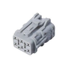 5 Sets Female Male 6 Pin 7123-7464-40  Automotive Connector Auto Light Lamp Socket Connector Tail Light Plug DJ7061Y-2-21 5 sets dj7052 6 3 21 car relay holder 5 pin 5 way automotive relay socket