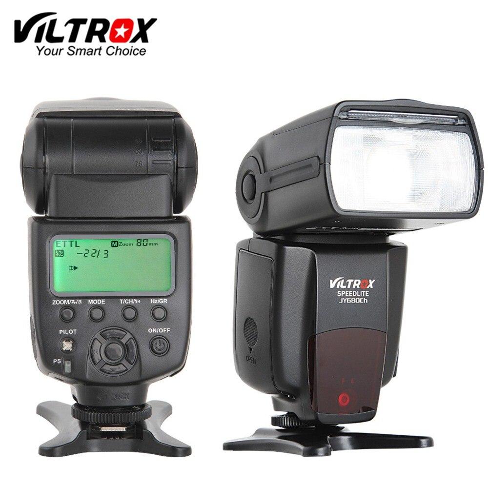 Galleria fotografica Viltrox JY-680CH 1/8000 S Haute Vitesse HSS Sync TTL Flash Speedlite pour <font><b>Canon</b></font> DSLR 760D 750D 700D 650D 80D 70D 60D 5D MARK IV 7D II
