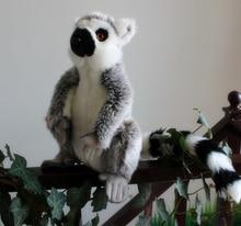 New  Plush Lemur  Toys  Creative  Emulation Stuffed Animal  Kawaii Ring-Tailed Monkey  Birthday Gift