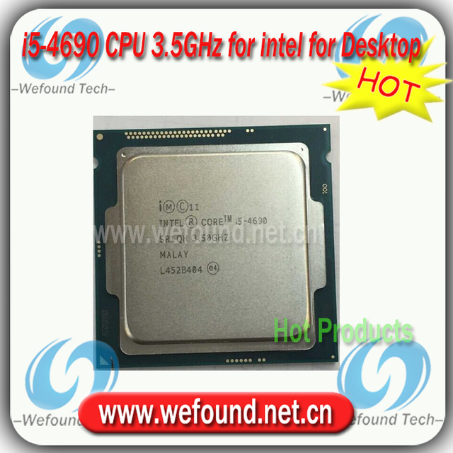 Original for Intel Core i5 4690 Processor 3.5GHz /6MB Cache/Quad Core /Socket LGA 1150 / Quad-Core /Desktop I5-4690 CPU