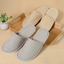 Travel portable folding slippers men and women travel standing non-disposable slippers at home hotel standing(China)