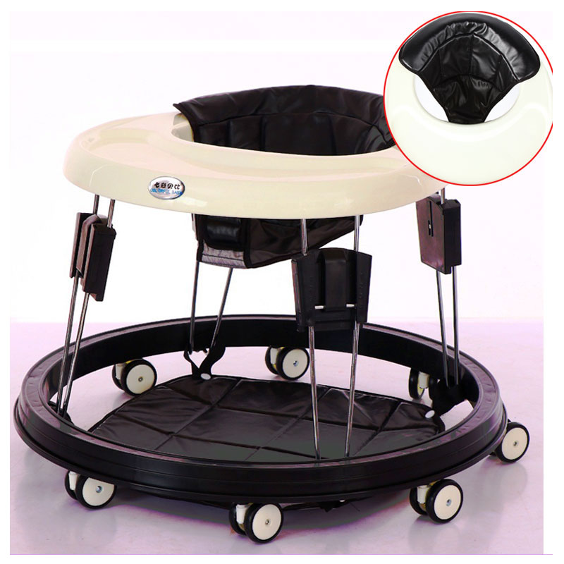 купить Baby Activity Walker with Wheels Functional Anti Rollover Installation-free Folding Baby Walkers Learning Walking Aid Assistant по цене 6870.47 рублей