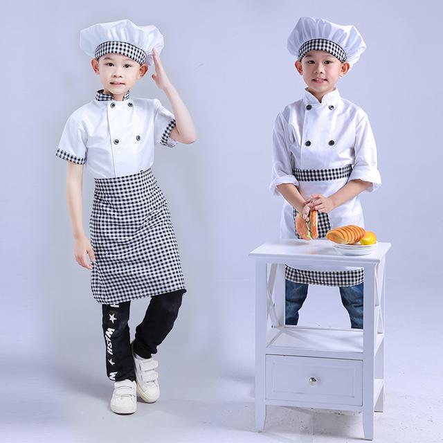 Kids Chef Roleplay Uniform