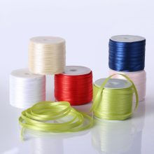 (3mm) Solid Color Grosgrain Ribbon Garment bag shoe hairbow accessory Bakery gift package 55 yards free shipping(China)