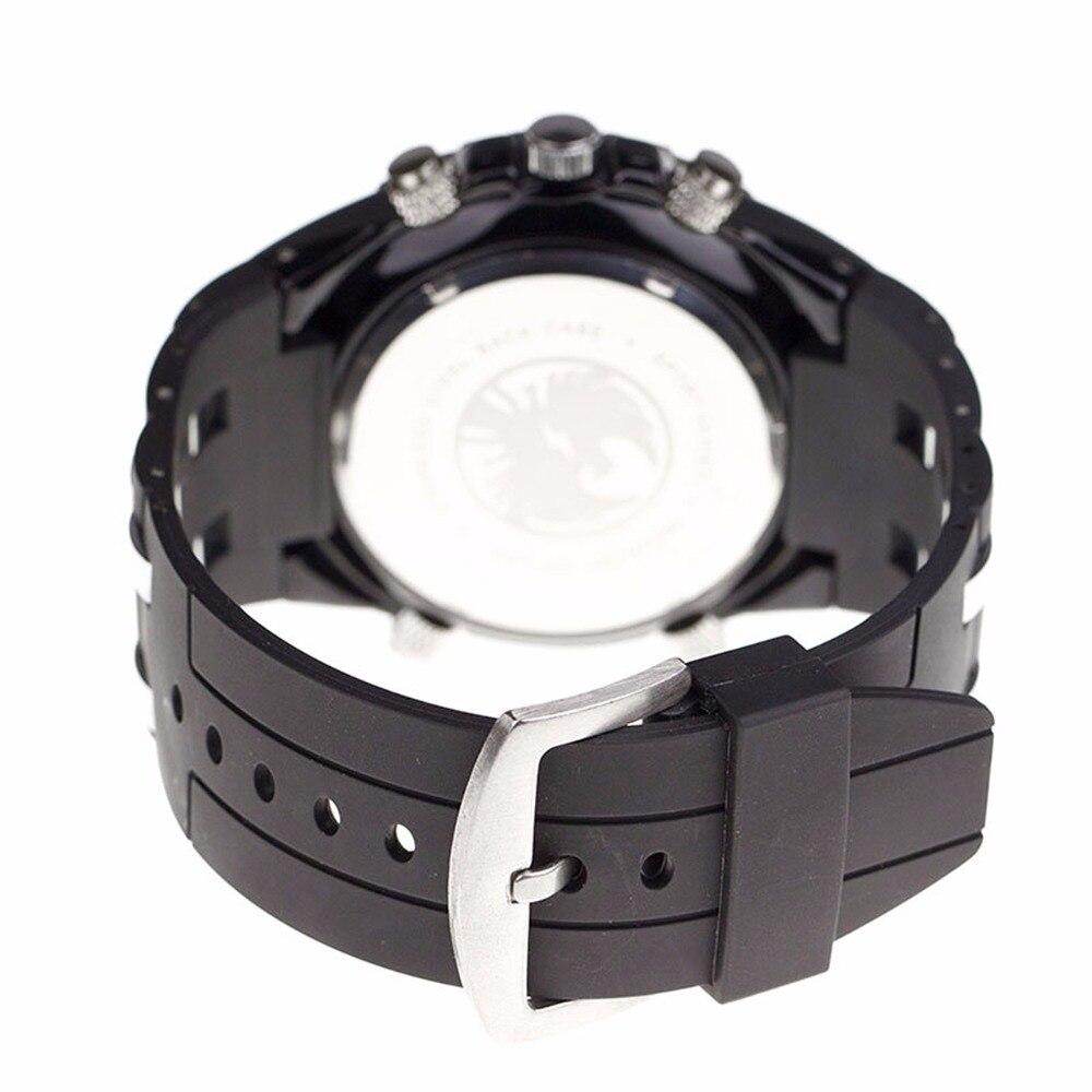 INFANTRY Mężczyźni wielofunkcyjny zegarek kwarcowy Pasek gumowy - Męskie zegarki - Zdjęcie 6