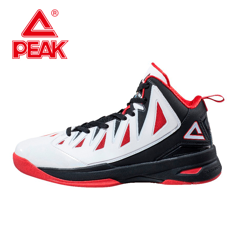 PEAK Speed Eagle II FIBA Series Professional Men Basketball Shoes Authent Cushion-3 REVOLVE Tech Athletic Sneakers Boots peak sport lightning ii men authent basketball shoes competitions athletic boots foothold cushion 3 tech sneakers eur 40 50
