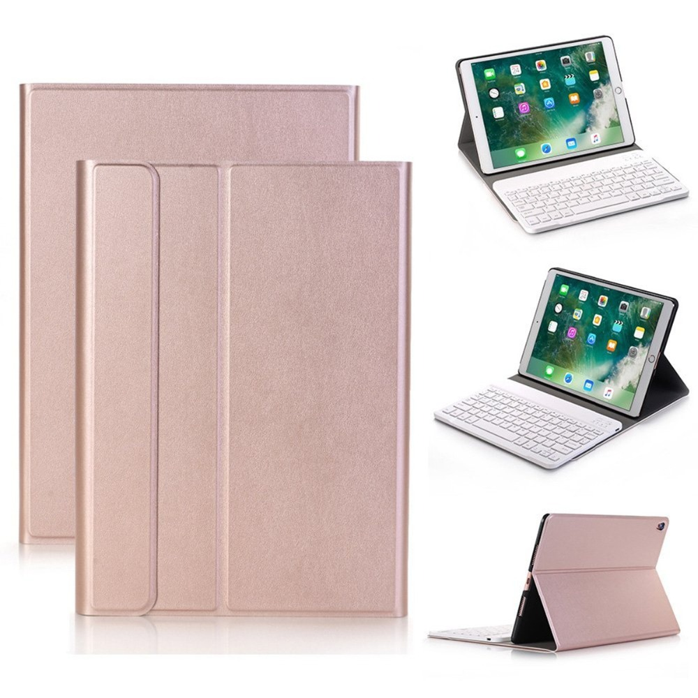 Kemile Ultra Slim Bluetooth Keyboard Case for New iPad 2018 With Removeable Keyboard For iPad 2018 New Case Stand Keyboard for ipad air 1 case with keyboard wireless bluetooth keyboard abs plastic stand protective bluetooth keyboard for ipad 5
