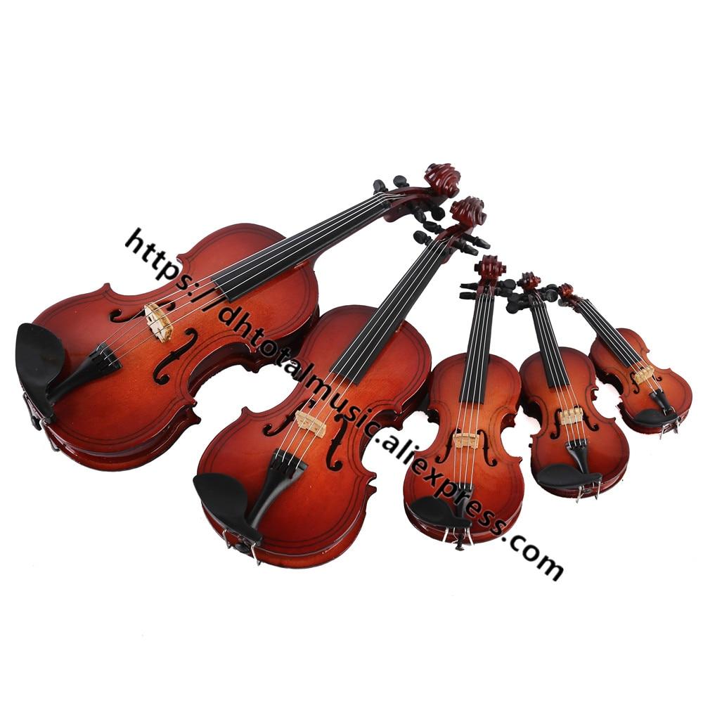 Персонализированная Миниатюрная модель скрипки, Реплика с подставкой и чехлом, аксессуары для кукольного домика, мини-украшения для музыка...