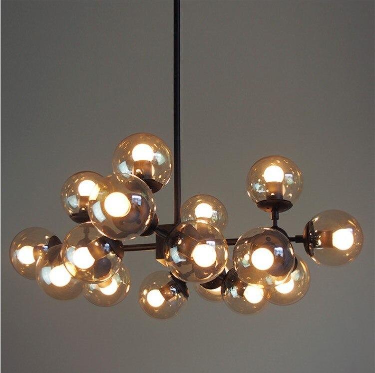 Vintage Round Ball Loft Iron Pendant Lamp Cell Mordern Droplight With Gl Clic Led Diy