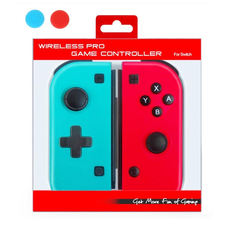 Беспроводной игровой контроллер с Bluetooth Pro для Nintendo Switch Joycon консольный переключатель геймпад джойстик Кнопка крышка