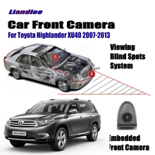 Liandlee Car Front View Camera AUTO CAM For Toyota Highlander XU40 2007-2013 2010 ( Not Reverse Rear Parking )