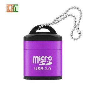 Image 4 - מיני מיקרו SD כרטיס טלפון נייד במהירות גבוהה TF כרטיס זיכרון קורא מחשב רכב רמקול כרטיס קורא