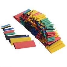 164 шт набор полиолефиновых термоусадочных проводов, набор трубок с изоляцией, комплект трубок