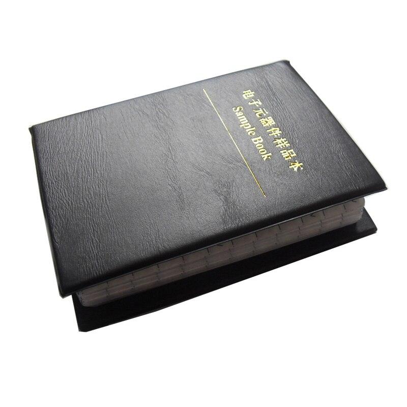 Новый конденсатор 0805 SMD книга для образцов 105valuesx25шт = 2625 шт 0.5PF ~ 10 мкФ набор различных конденсаторов в упаковке
