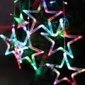 EU-Plug  AC 220V 10W 168-LED Star String Lights For Garden Room Holiday Christmas Decoration