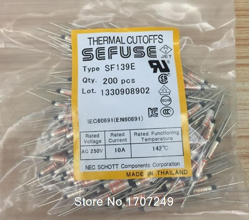 1pcs 10A AC 250V Microtemp Thermal Fuse 90°C 90 Degree TF Cutoff Cut-off