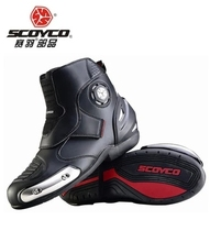 Free shipping 2014 new motorcycle riding boots Scoyco MBT003 road racing shoes popular brands