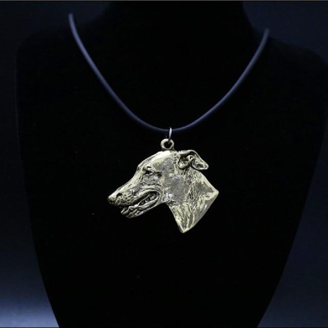 ожерелье с изображением собаки колье ручной работы украшения фотография