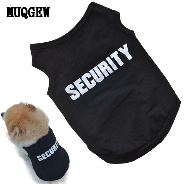 MUQGEW Pet Dog Clothes For Small Dogs Summer Clothes Chihuahua Puppy Clothing Shirt Winter Warm Vest Printed Ropa Para Perros