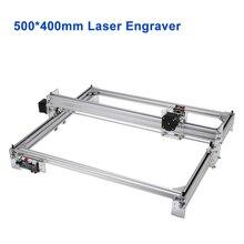 שולחן העבודה CNC לייזר חריטת מכונת 500*400mm עץ לייזר חרט חותך 5500 mW 10 W 15 W עבור עץ מתכת חריטה מדפסת CNC5040