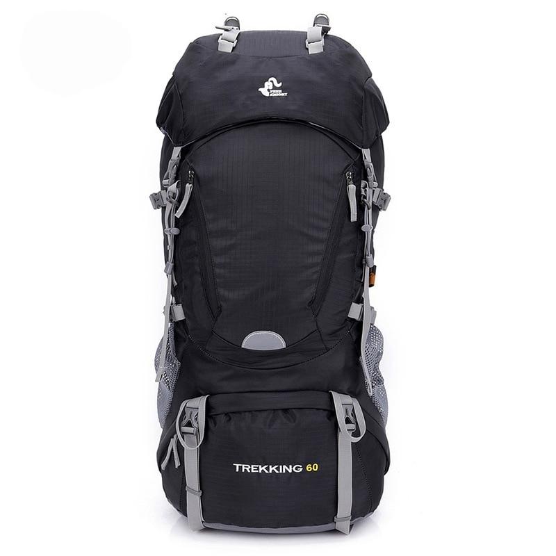 Chevalier gratuit 60l randonnée en plein air sacs à dos sac à dos Sport sac à dos voyage escalade sacs étanche Trekking Camping sac à dos