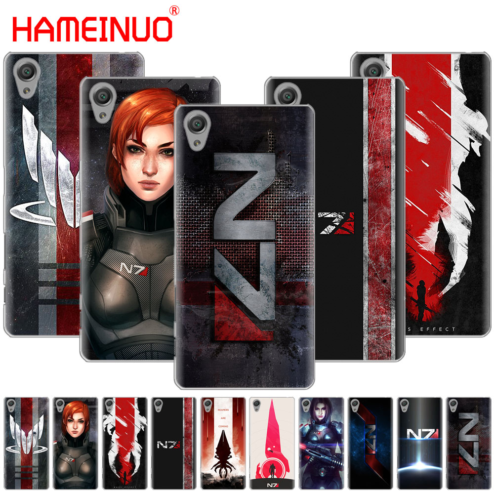 Cellphones & Telecommunications Phone Bags & Cases Hameinuo N7 Mass Effect Cover Phone Case For Sony Xperia C6 Xa1 Xa2 Xa Ultra X Xp L1 L2 X Xz1 Compact Xr/xz Premium Numerous In Variety