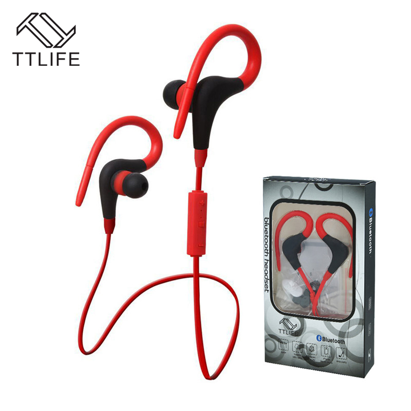 Buy 2 Get 1$ Down ! TTLIFE Bluetooth 4.1 Headset Wireless Sport Stereo Headphone with Mic for Phones Samsung auricular xiaomi hot sale ttlife smart bluetooth 4 1 earphone upgraded wireless sports headphone portable handfree headset with mic for phones