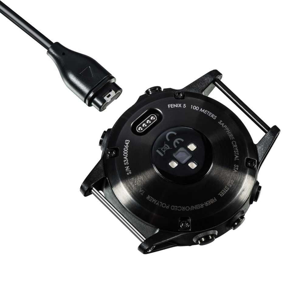 Замена зарядного устройства USB кабель для Garmin Fenix 5 5S 5X Forerunner 935 подход S60 Quatix 5 ЅАРРҺБЫЛ vivoactive 3