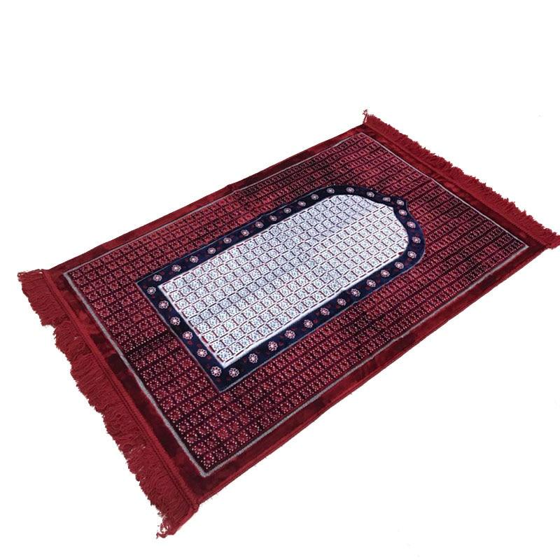 XHX888 islamique musulman tapis de prière vloerkleed tapis dywanik Tapete couverture de pèlerinage Banheiro Musallah tapis de prière tapis
