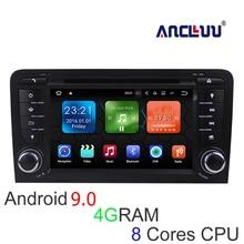 Android 6.0.1 2G RAM Eight 7coreCar DVD For Audi A3 S3 2003 2012 Car GPS,BT,RADIO,RDS,TV,USB/SD,OBD,MIRROR-LINK,3G,WIFI, автомобильный компьютер greenyi 1024 600 android 4 4 audi a4 1 6g 1g ram dvd gps wifi 3g