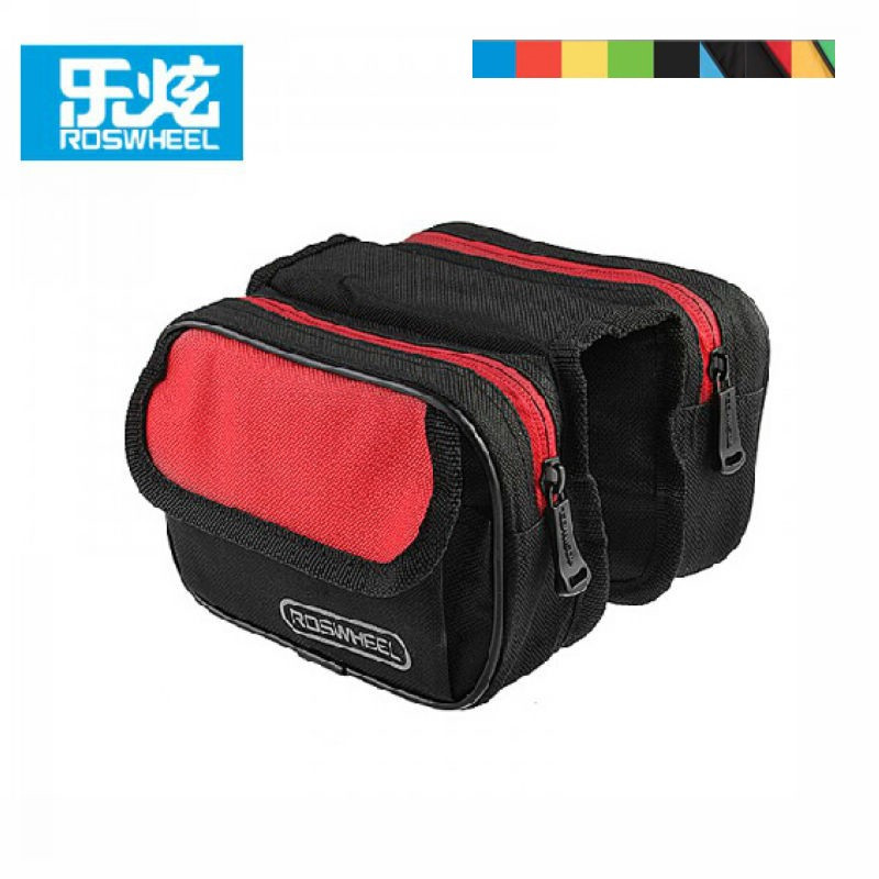 Roswheel Bike Bicycle Front Tube Bag Cycling Frame Pannier Bags bike accessories bycicle accessories bisiklet aksesuar ...